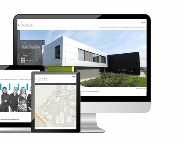 Site web Lignes